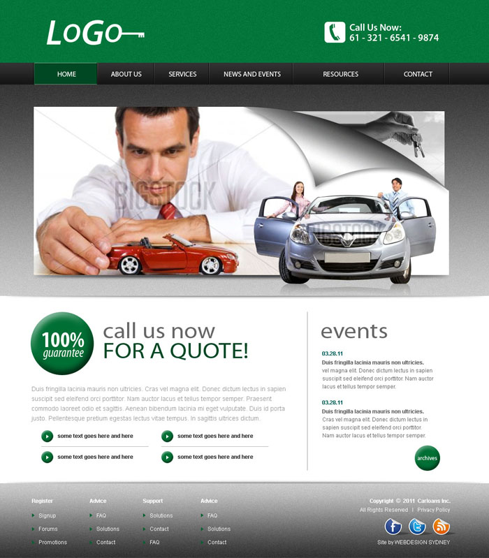 Professional Website Templates | Web Hosting & Domain Registration ...